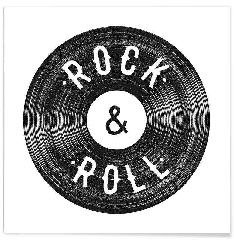 Rock & Roll poster
