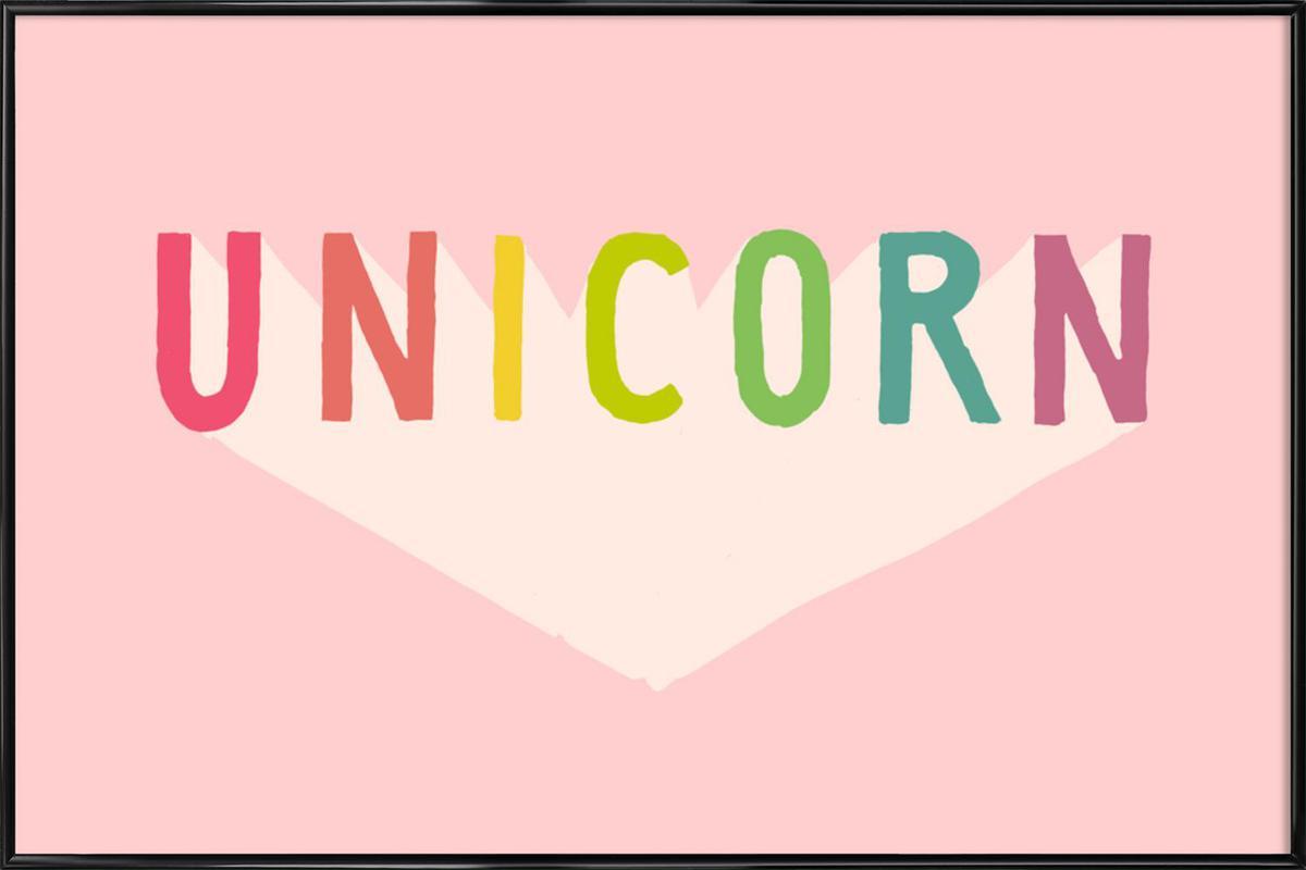 Unicorn Framed Poster