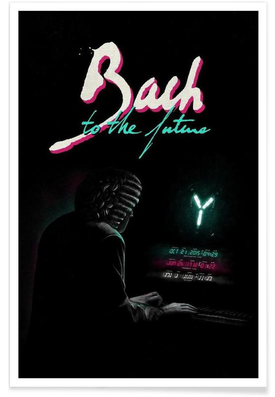 Bach to the future Poster