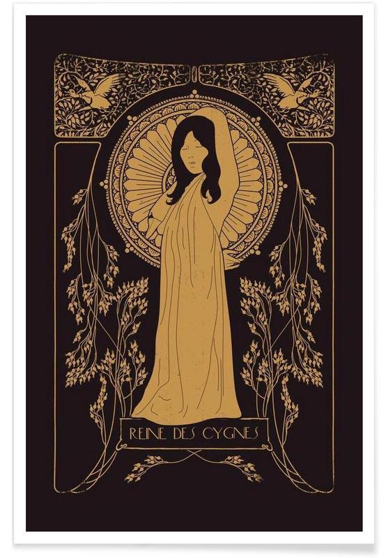 Reine des Cygnes - Bjo¦êrk Poster