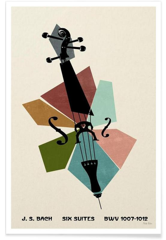 Bach - Cello Suites -Poster