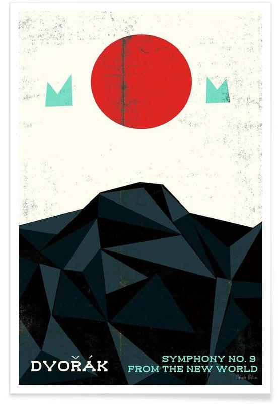 Dvorak - New World Symphony poster