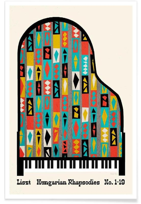Liszt - Hungarian Rhapsodies poster