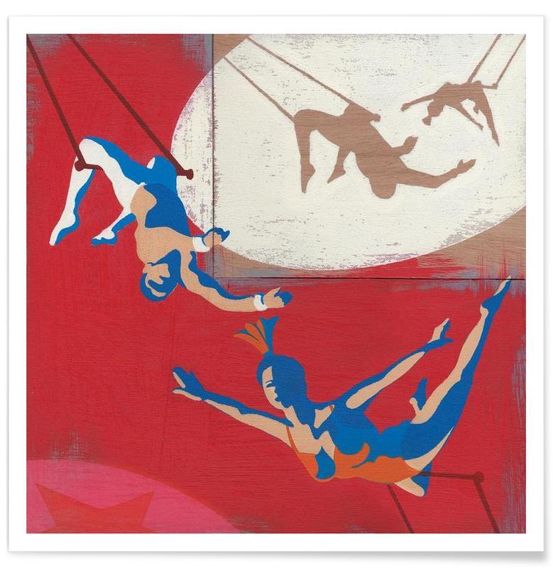 Trapeze Poster