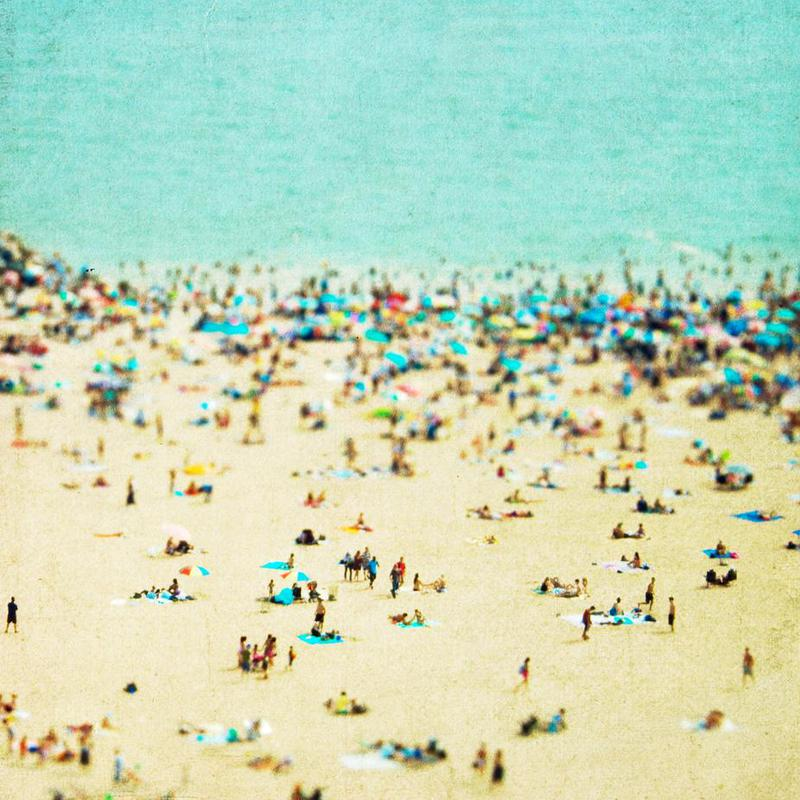 Coney Island Beach alu dibond