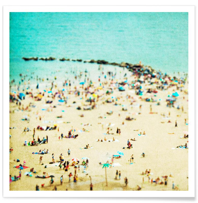 Coney Island Beach 2 -Poster