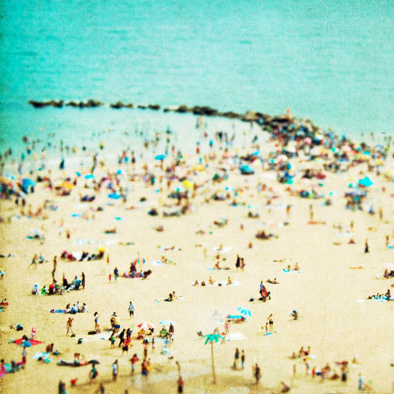 Coney Island Beach 2 alu dibond