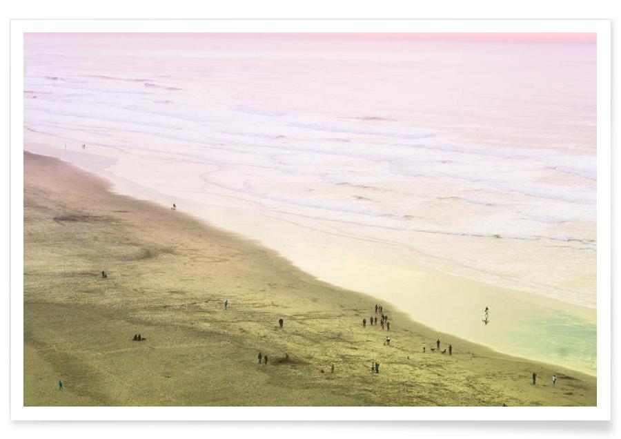 Ocean Beach California -Poster
