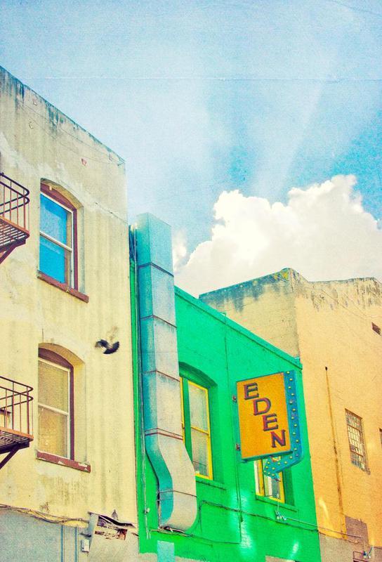 San Francisco Eden Alu Dibond Druck | Dekoration > Bilder und Rahmen > Poster | Mehrfarbig | Aluminium