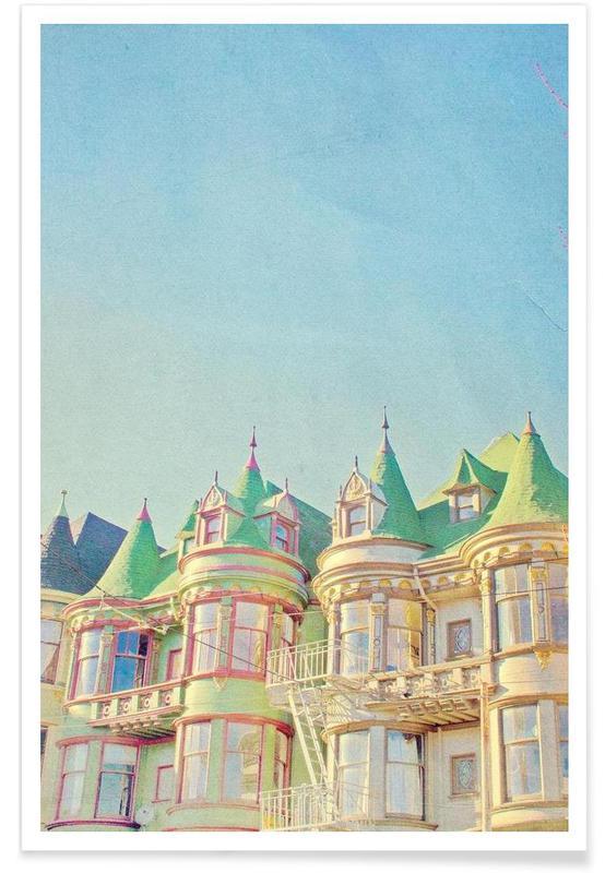 San Francisco Fairytale Poster