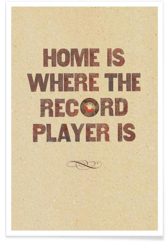 Home is where… poster