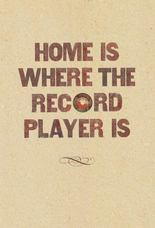 Home is where… -Acrylglasbild