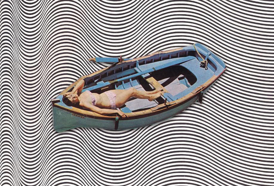 Adrift -Acrylglasbild