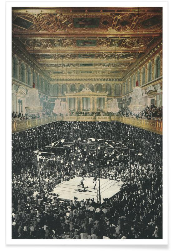 boxing in vienna affiche