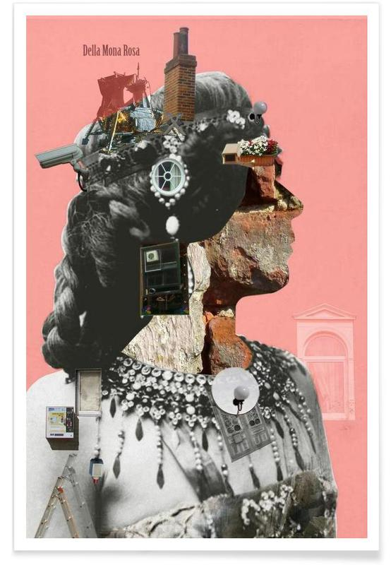 Crazy Woman – Della Mona Rosa -Poster