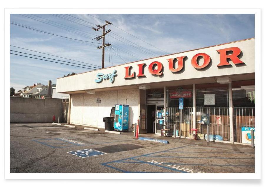 Liquor Store Santa Monica Poster
