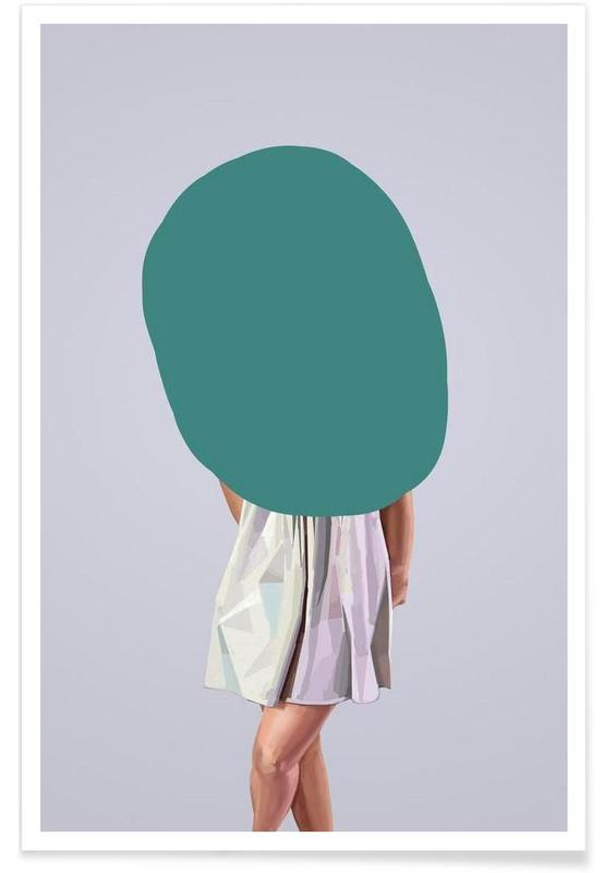 Turquoise Poster