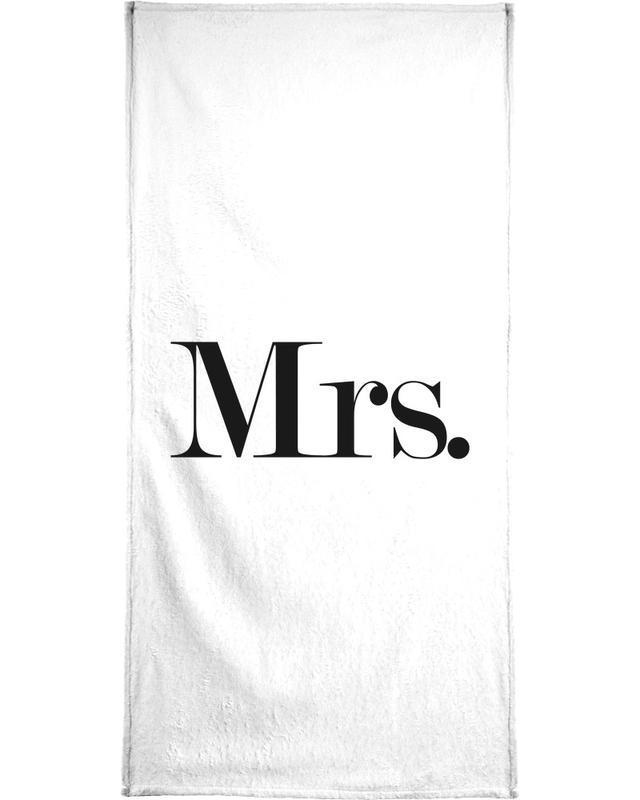 Mrs. serviette de bain