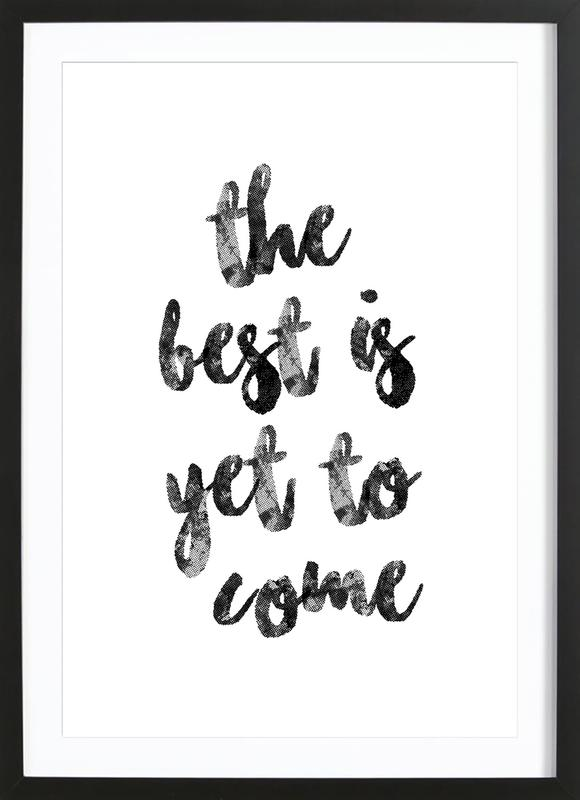 Yet to Come Framed Print