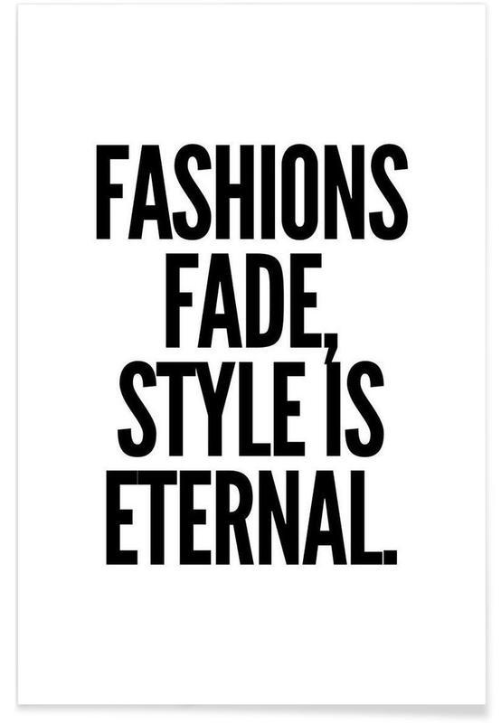 fashion Premium Poster