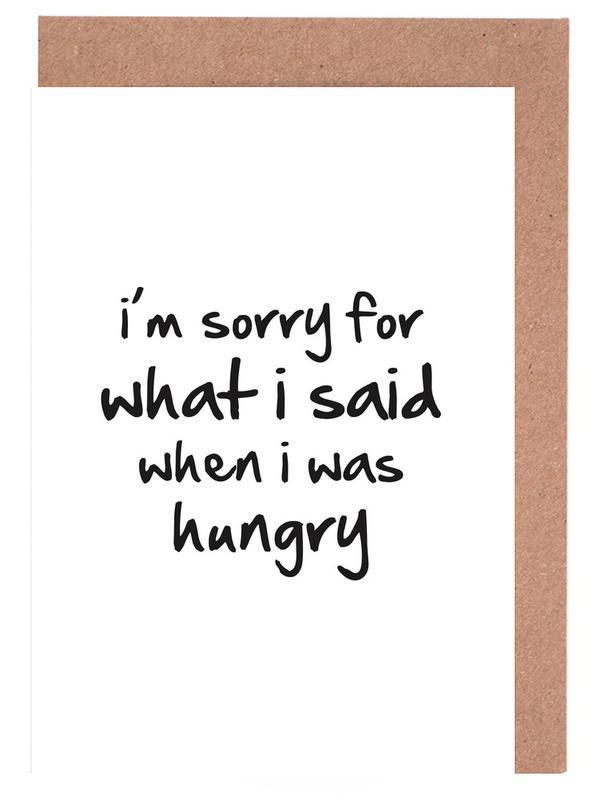 hungry cartes de vœux