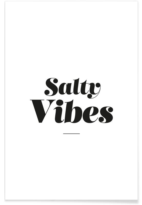 Salty Vibes poster