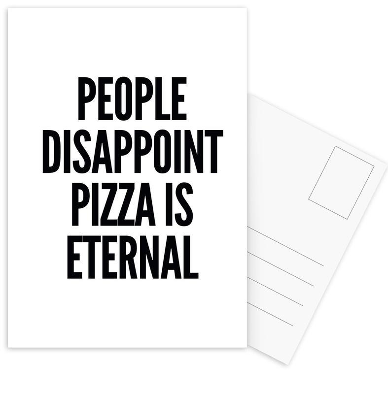 pizza cartes postales