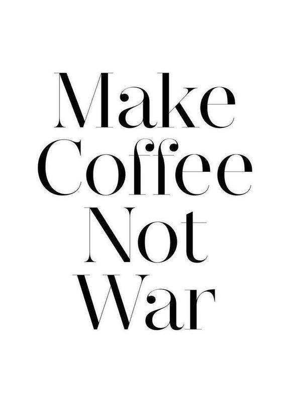 coffee -Leinwandbild