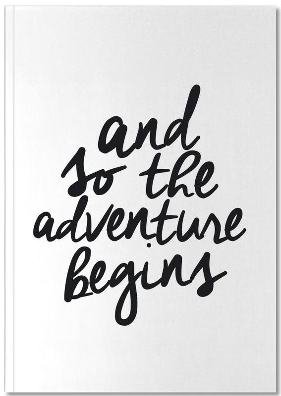 Adventure Begins Notebook