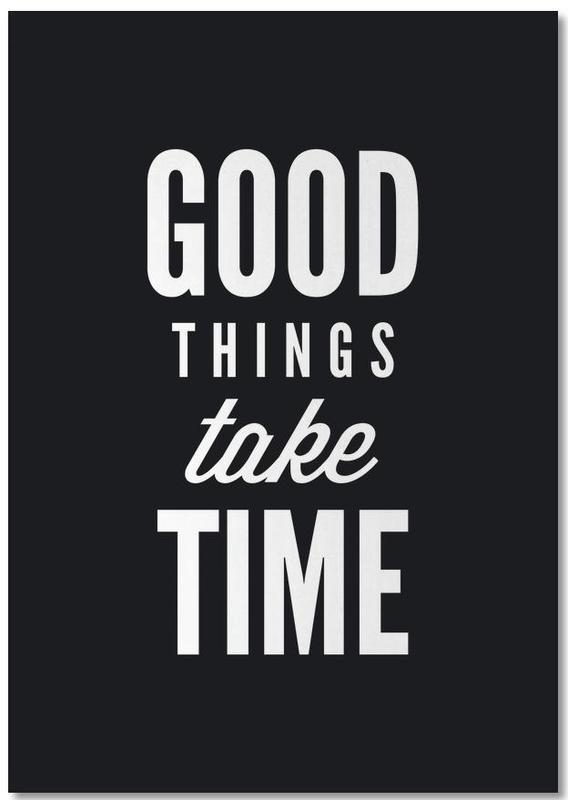 Good Things Take Time Notepad