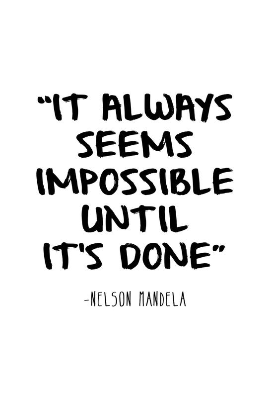 Impossible -Alubild
