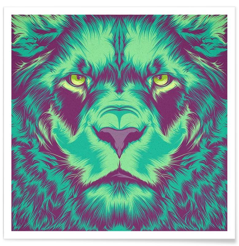 Lion alt Poster