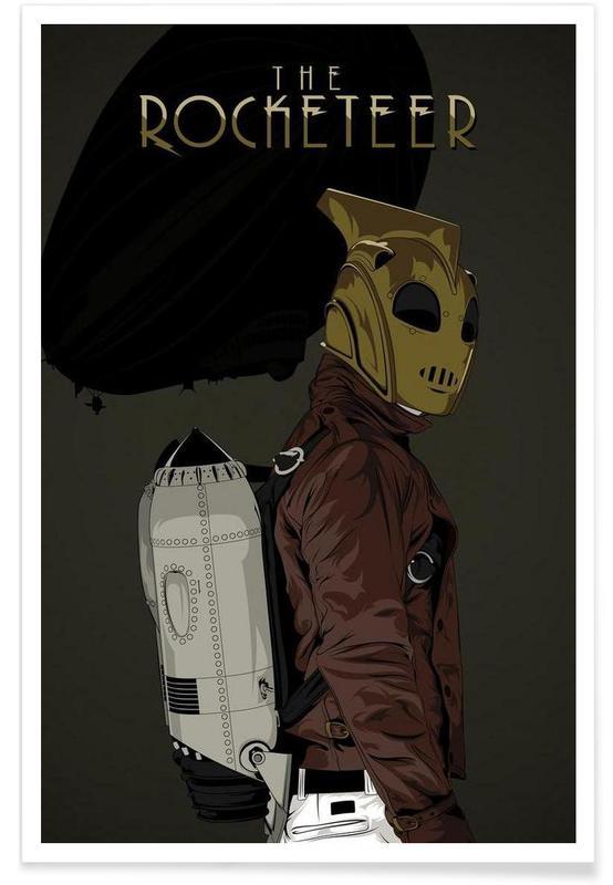 Rocketeer Poster