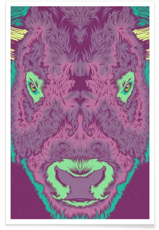 Bisonte Poster