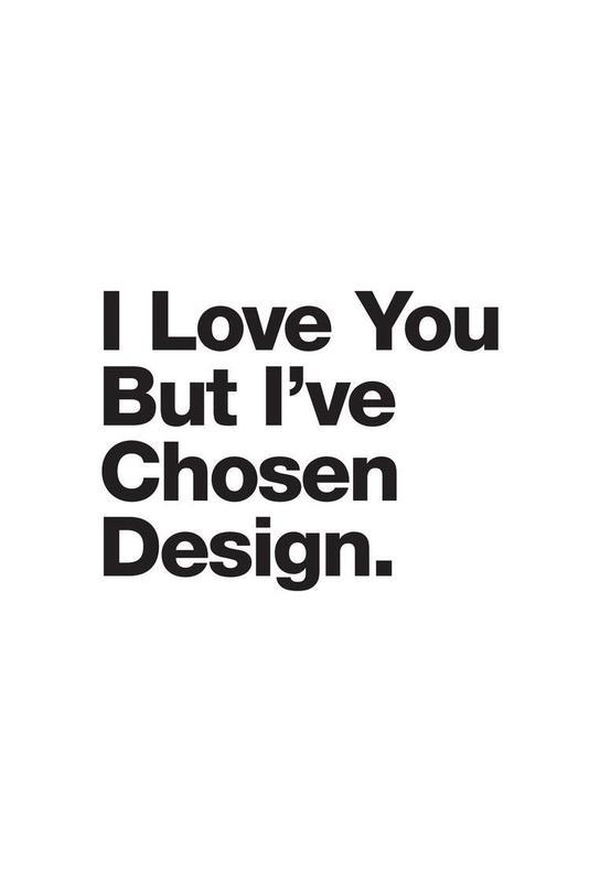 I've Chosen Design Alu Dibond Druck | Dekoration > Bilder und Rahmen > Poster | Mehrfarbig | Aluminium