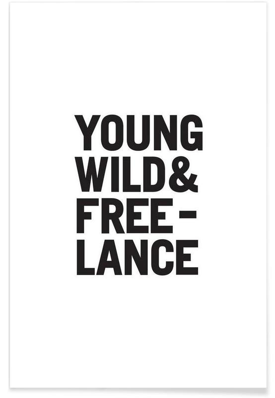 Young Wild & Freelance poster