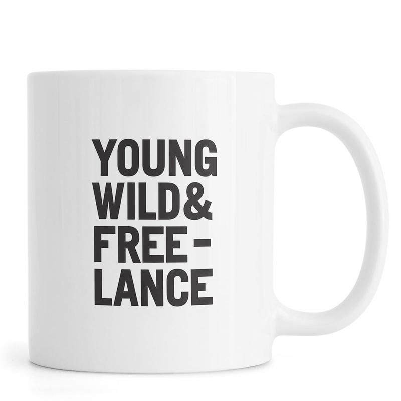 Young Wild & Freelance Mug