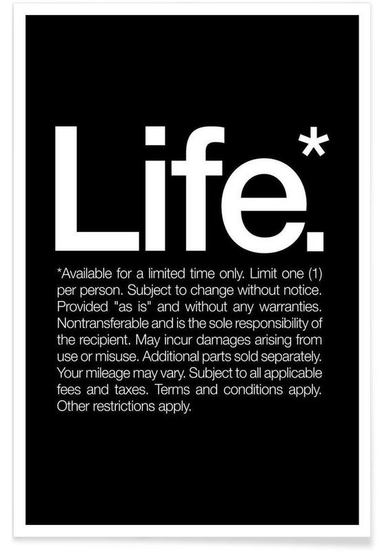 Life* (White) Poster