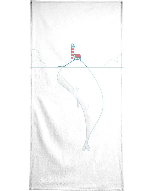 The Lighthouse Keeper Bath Towel