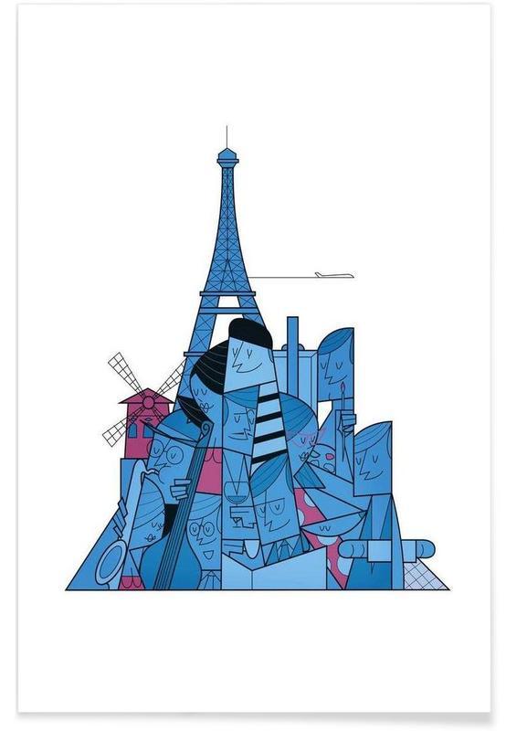 Paris affiche