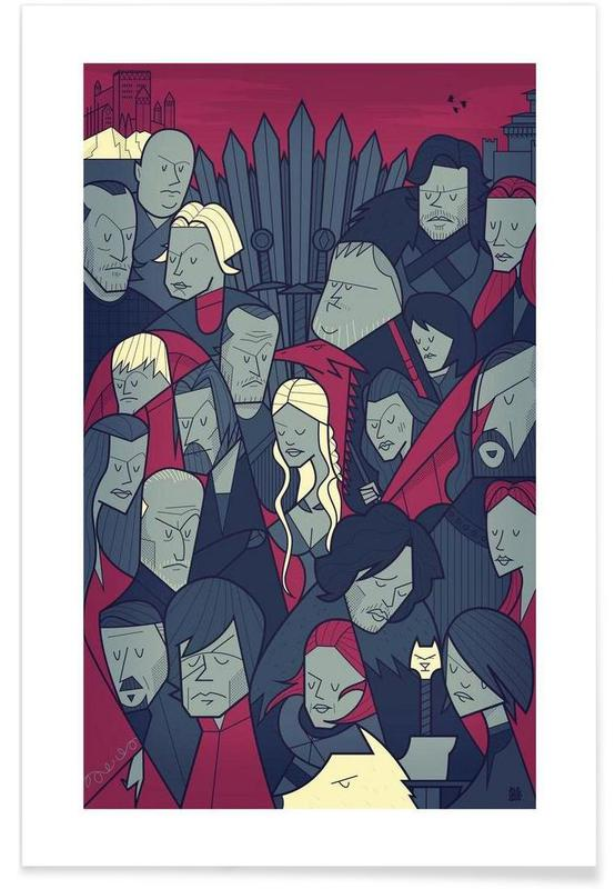 Winter is coming affiche