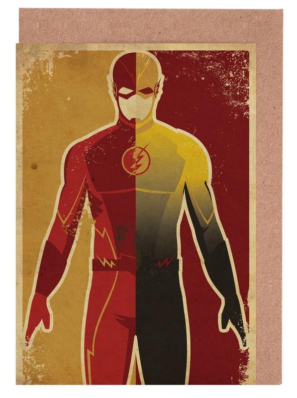 The Flash Greeting Card Set