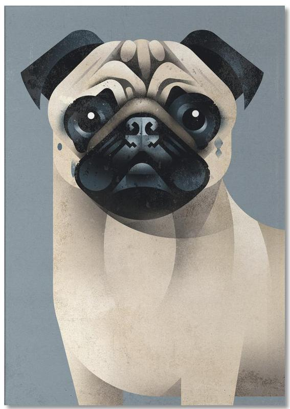 Pug -Notizblock