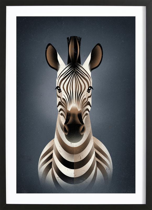 Zebra II Framed Print
