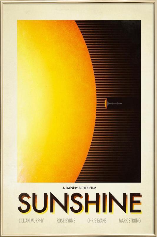 Sunshine poster in aluminium lijst