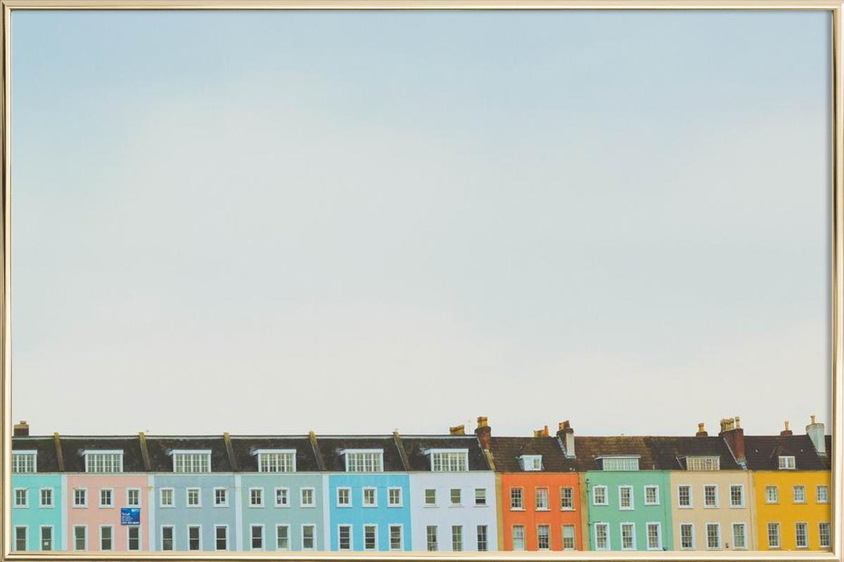Bristol Redcliffe Poster im Alurahmen | Dekoration > Bilder und Rahmen > Poster | Mehrfarbig