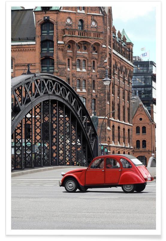 Red Oldtimer affiche