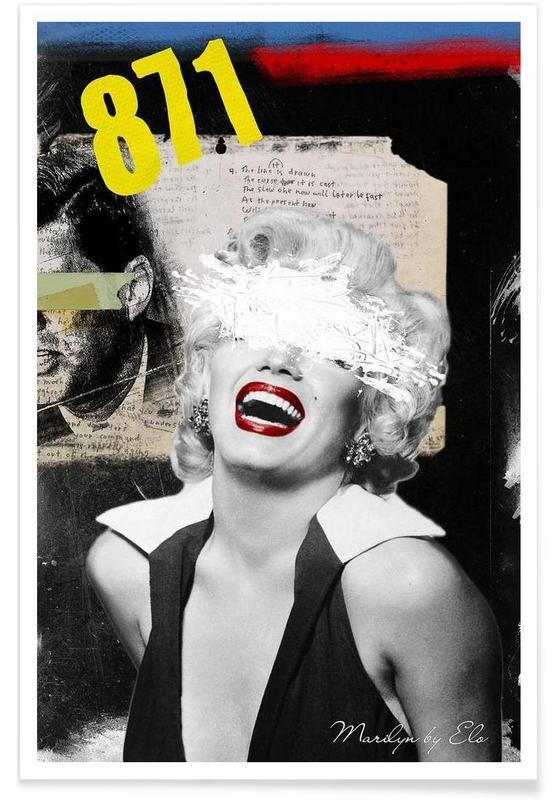 Public Figures: Marilyn Poster