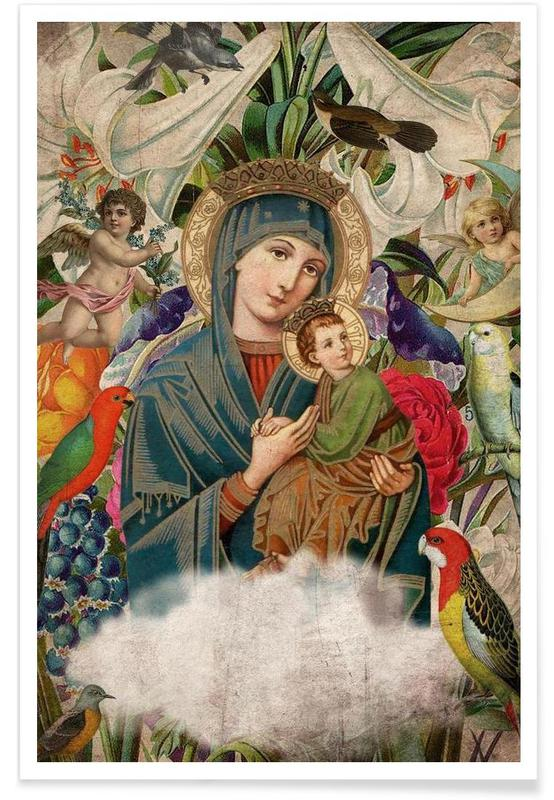 Saints: Madonna and Child poster