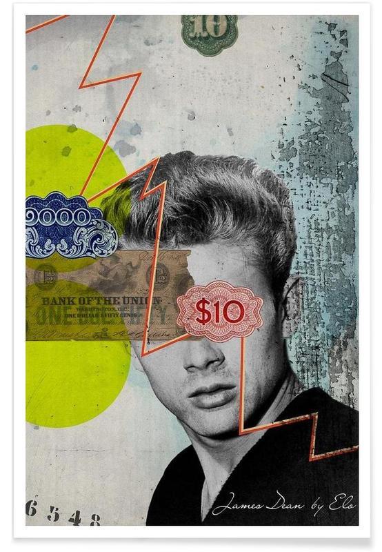 Public Figures: James Dean poster